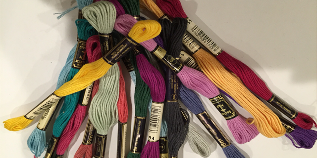 Colorful Skeins